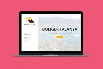 Lage hjemmeside for å selge boliger i utlandet